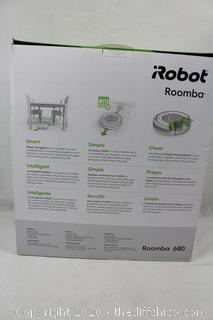 NEW SEALED iRobot Roomba 680 Robotic Vacuum Vacuuming Robot - Black