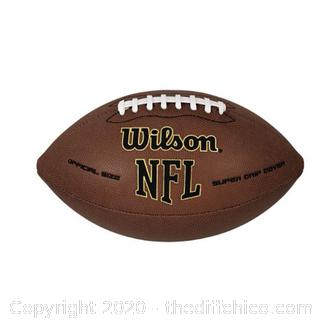 *NEW* Wilson NFL Super Grip Football - Official 14+