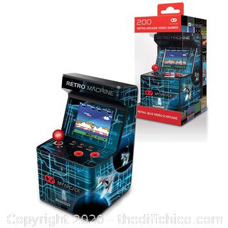 *NEW* My Arcade Retro Machine Playable Mini Arcade: 200 Retro Style Games Built In, 5.75 Inch Tall
