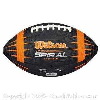 *NEW* Wilson Sporting Goods NFL Hyper Spiral Football Junior Size 9+