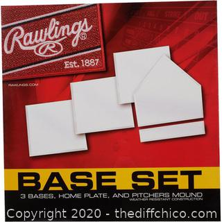 *NEW* Rawlings Baseball Recreational Base Set