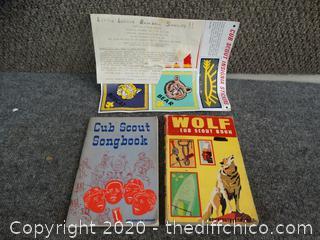 Cub Scout/ Wolf Scout Books