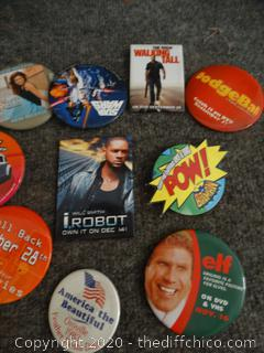 Movie Button Collection