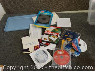 Computer CD lot - see pictures