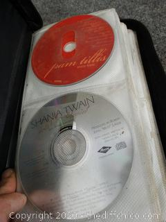 CD Case w/ country CD's