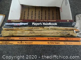 Advanced Dungeons & Dragons Handbooks