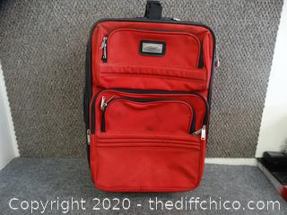 """Rolling Suitcase 21 1/2"""" x 15"""" x 8"""""""