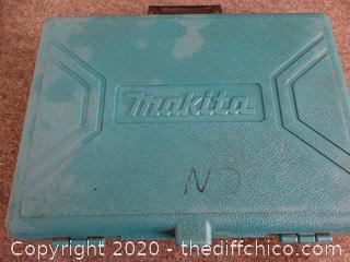 Makita case w/ Power Drill - untested