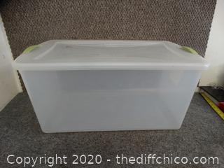 Sterilite Storage Container w/ lid