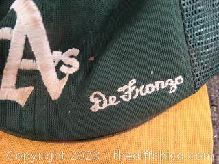 Oakland A's De Fronzo baseball cap