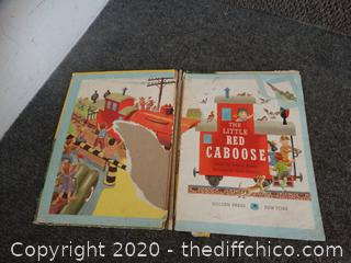 1953-1970 Little Red Caboose book