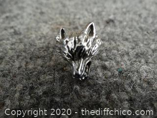 Wolf Ring - size 7