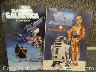 Star Wars & Battle Galactica Storybooks