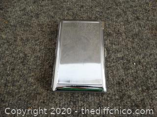 Cigarette Case w/ working lighter