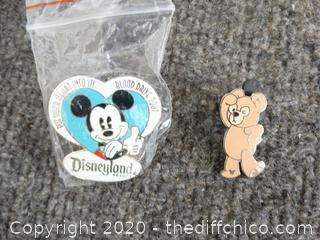 Disneyland Resort & Disney Bear Pins