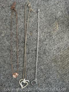 Necklaces lot