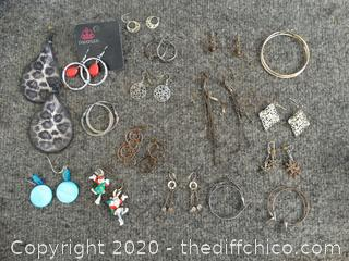 Earrings lot