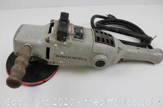Rockwell 781 Type 2 Heavy Duty Sander (or Cutter) 115V 12AMPS 5000RPM