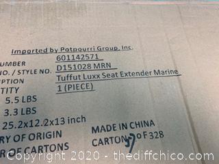 Tuffut Luxx™ Seat Extender - Marine Blue Finish (J50)