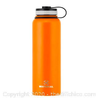 Winterial 40oz Stainless Steel Water Bottle - Orange (J57)