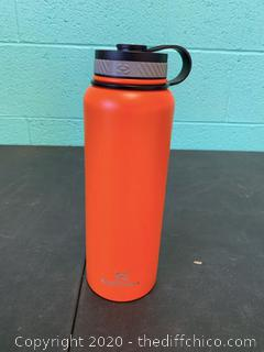 Winterial 40oz Stainless Steel Water Bottle - Orange (J59)