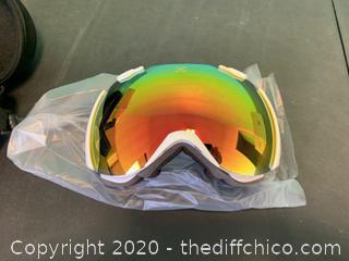 Winterial Snowboard/Ski Goggles - White (J63)