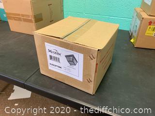 Maxim 6203FTBK Outdoor Essentials - 620x 1 Light 8 inch Black Outdoor Ceiling Mount (J76)