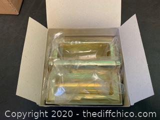 Moen 576PB Polished Brass Recessed Toilet Paper Holder (J89)