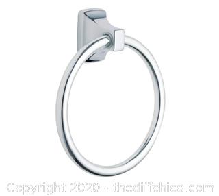 Moen P5860  Contemporary Chrome Towel Ring (J103)