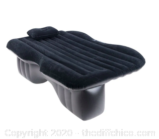 Winterial Backseat Inflatable Car Mattress - Black (J2)
