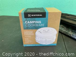 Winterial Camping Cookware and Pot Set (J111)