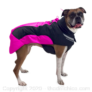 FrontPet Ultralight Dog Winter Jacket - Pink (J19)
