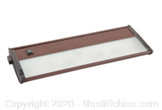 Maxim 87451BRZ 13 inch Anodized Bronze Under Cabinet (J23)