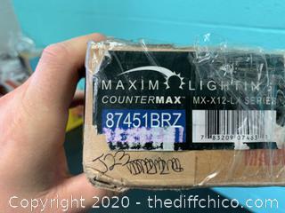 Maxim 87451BRZ 13 inch Anodized Bronze Under Cabinet (J23)