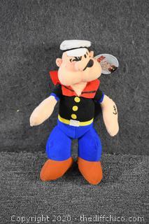 Popeye Play by Play Doll w/tag