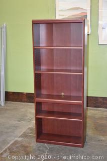 Bookcase w/Adjustable Shelves