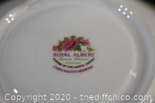 3 Collectible Cup and Saucer Sets