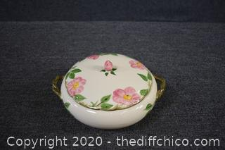 Franciscan Desert Rose - Covered Casserole Dish