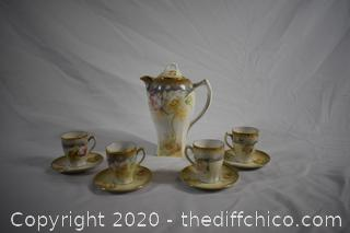 10 Piece Made in Germany Tea Set