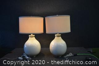 Pair of Working Lamps