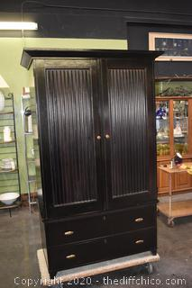 2 Piece Lane Armoire w/2 Drawers Made in USA