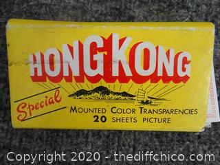 Hong Kong Mounted Color Transparencies