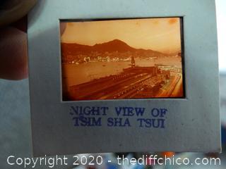 Hong Kong Mounted Color Transparencies
