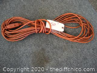 50 ' Ft Extension Cord