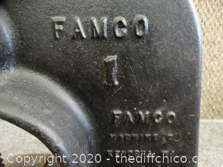 1 Ton Famco Arbor Vise