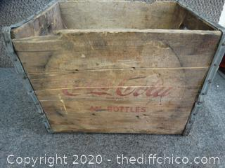 Coca Cola Wood Crate