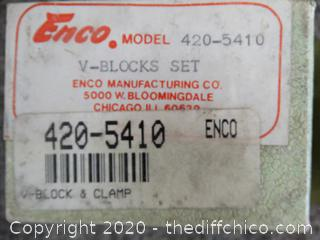 Enco V-Block set 420- 5410