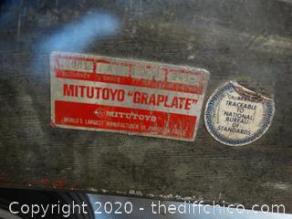 "Mitutoyo  Graplate Machinist Block 18"" x24"""