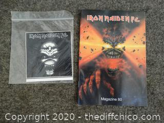 Iron Maiden Magazine & Sticker Book
