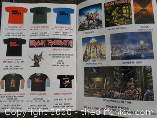 Iron Maiden Magazine & Sticker Book